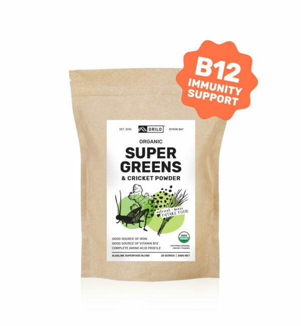 Organic Super Greens & Cricket Powder