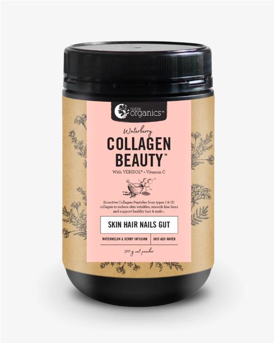Nutra Organics Collagen Beauty Waterberry 300g
