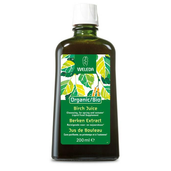 Weleda Organic/Bio Birch Juice Liquid Food Supplement 200ml