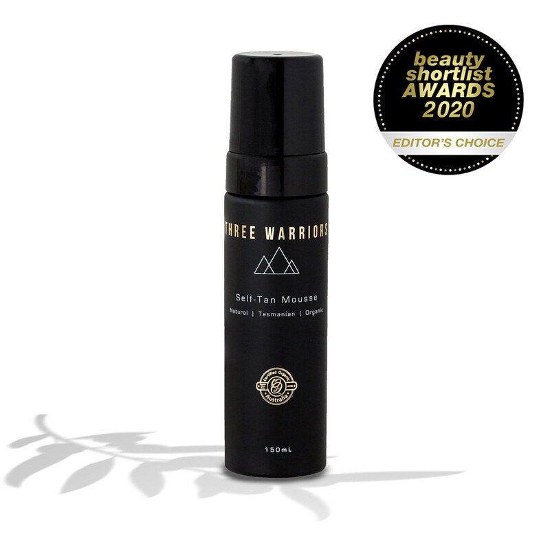 Three Warriors Self Tan Mousse
