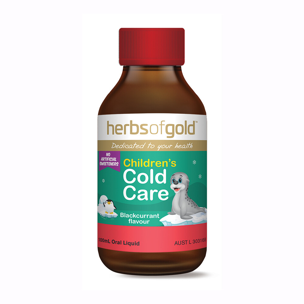 Herbs of Gold Childrens Cold Care - 100ml
