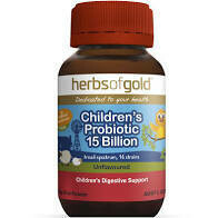 Herbs of Gold Children's Probiotic 15 Billion Unflavoured - 50g