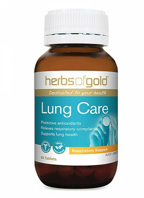 Herbs of Gold Lung Care - 60 tablets