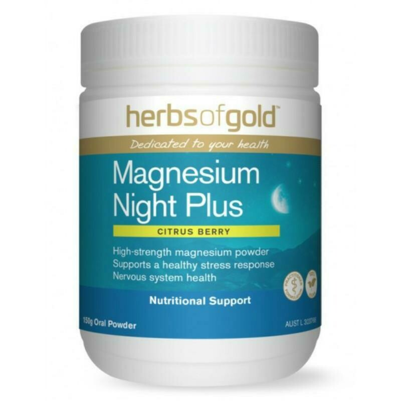 Herbs of Gold Magnesium Night - 150g powder