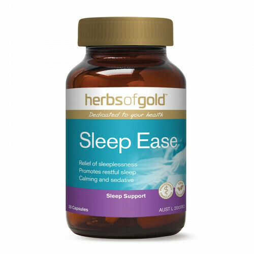 Herbs of Gold Sleep Ease - 30 capsules