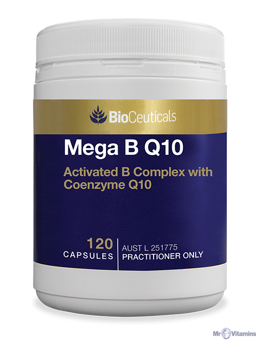 BioCeuticals Mega B Q10 - 120 Capsules