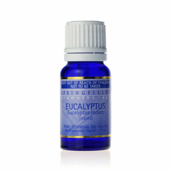 Springfields Certified Organic Eucalyptus 11ml