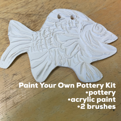 Ceramic Fish Acrylic Painting Kit