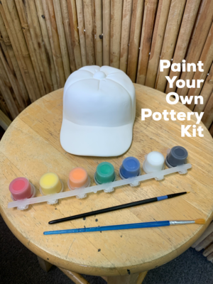Ceramic Baseball Cap Bank Acrylic Painting Kit