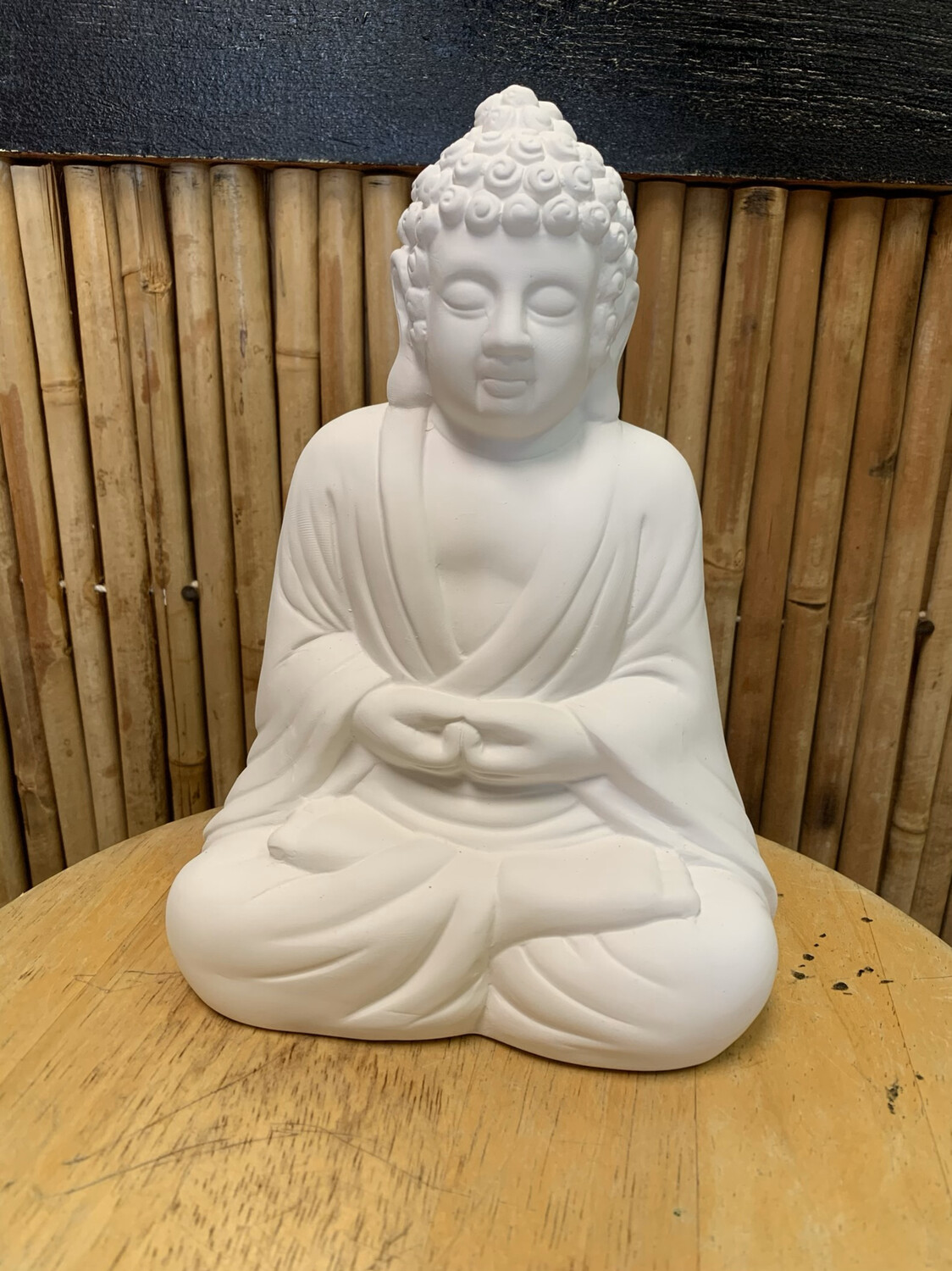 Paint Your Own Pottery - Ceramic Buddha Figurine Painting Kit