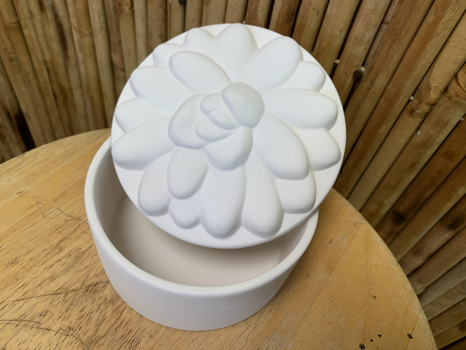 Paint Your Own Pottery - Ceramic   Succulent Box Painting Kit