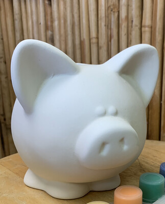 BRING BACK TO FIRE Ceramic Piggy Bank Painting Kit