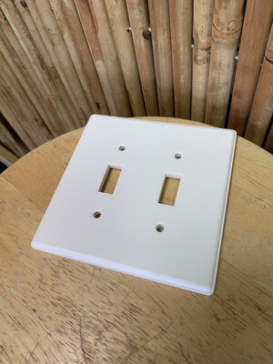 Paint Your Own Pottery - Ceramic   Double Light Switch Cover Painting Kit