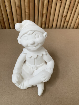BRING BACK TO FIRE Ceramic Christmas Shelf Elf Painting Kit