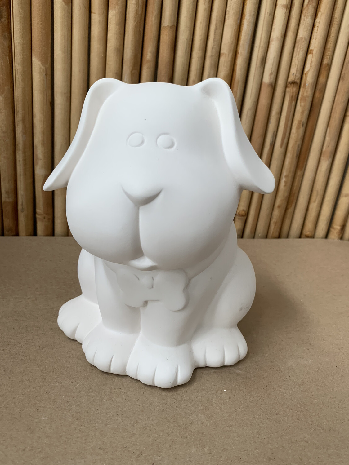 Paint Your Own Pottery - Ceramic   Dog Treat Jar Painting Kit