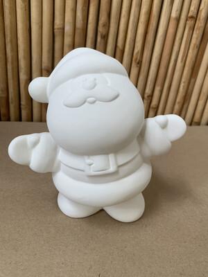 BRING BACK TO FIRE Ceramic Medium Santa Figurine Painting Kit