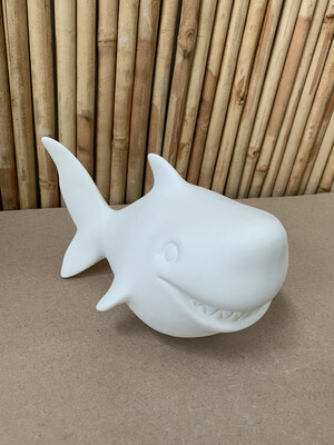 BRING BACK TO FIRE Ceramic Shark Bank Painting Kit