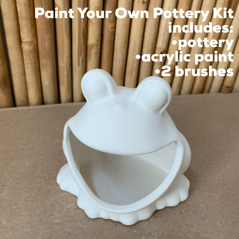 Ceramic Frog Acrylic Painting Kit