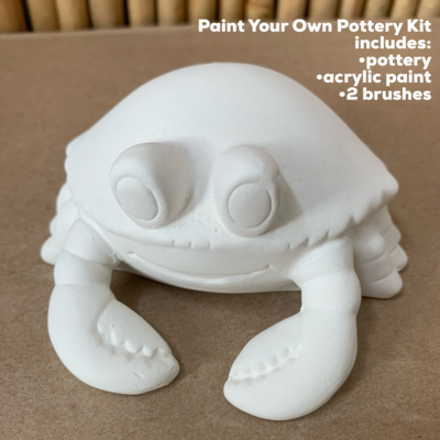 Ceramic Crab Acrylic Painting Kit