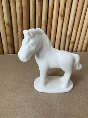 BRING BACK TO FIRE Ceramic Horse Figurine Painting Kit