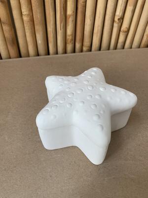 BRING BACK TO FIRE Ceramic Starfish Box Painting Kit