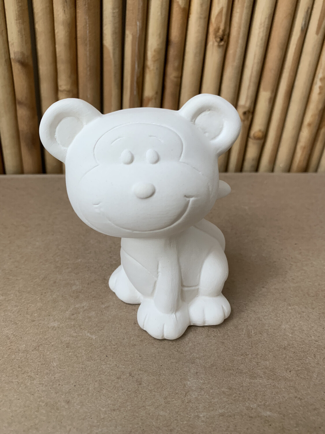 Paint Your Own Pottery - Ceramic   Monkey Figurine Painting Kit