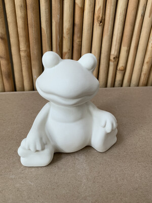 BRING BACK TO FIRE Ceramic Frog Figurine Painting Kit
