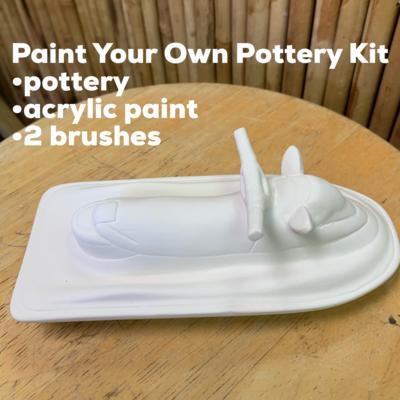 Ceramic Jetski Acrylic Painting Kit