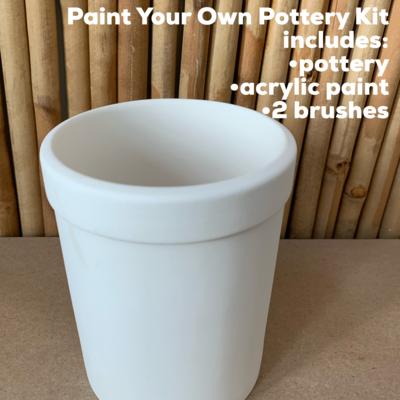 Ceramic Pencil Holder Acrylic Painting Kit