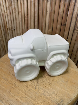 BRING BACK TO FIRE Ceramic Monster Truck Bank Painting Kit