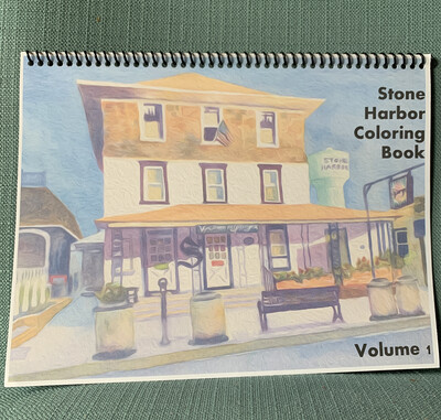 Stone Harbor Coloring Book Kit Volume 1