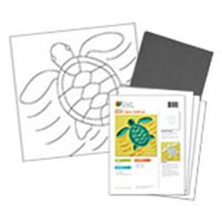 Baby Sea Turtle Acrylic Paint On Canvas Kit