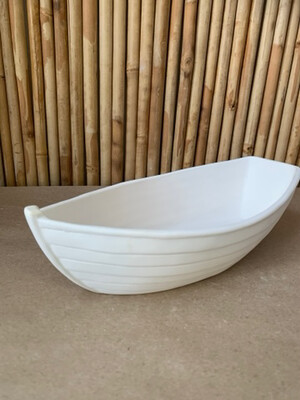 Paint Your Own Pottery - Ceramic   Lifeguard Boat Planter or Server Painting Kit