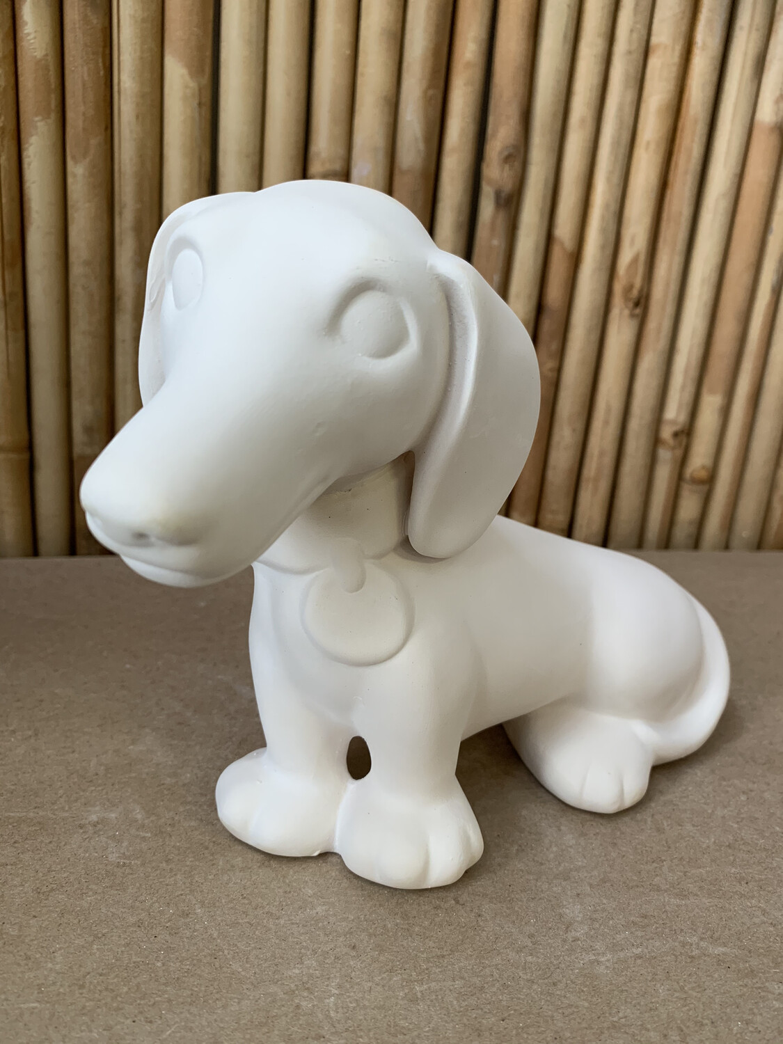 Paint Your Own Pottery - Ceramic   Dachshund Puppy Hound Dog Painting Kit