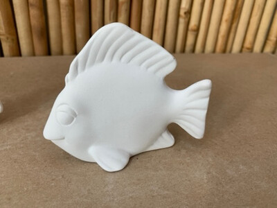 BRING BACK TO FIRE Ceramic Fish Figurine Painting Kit