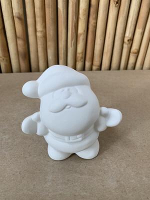 BRING BACK TO FIRE Ceramic Small Santa Figurine Painting Kit