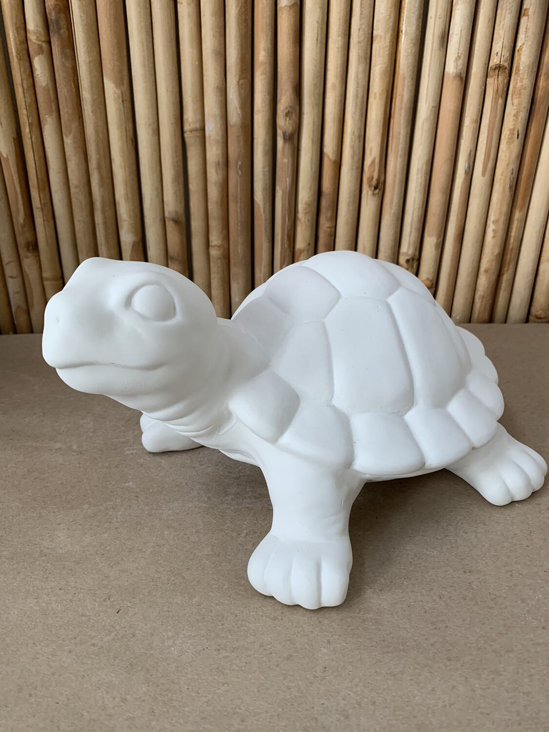 BRING BACK TO FIRE Ceramic Large Garden Turtle Figurine Painting Kit