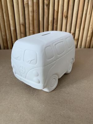 BRING BACK TO FIRE Ceramic Hippie Van Bank Painting Kit