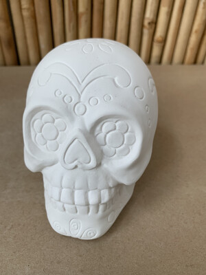 BRING BACK TO FIRE Ceramic Sugar Skull Painting Kit