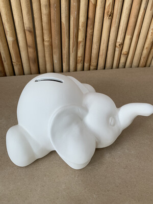 BRING BACK TO FIRE Ceramic Elephant Bank Painting Kit
