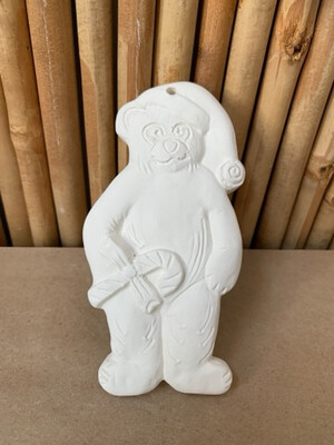 BRING BACK TO FIRE Ceramic Teddy Bear Ornament Painting Kit