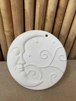 BRING BACK TO FIRE Ceramic Moon Ornament Painting Kit