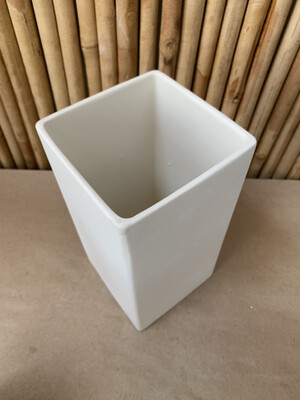 BRING BACK TO FIRE Ceramic Medium Cube Vase Painting Kit