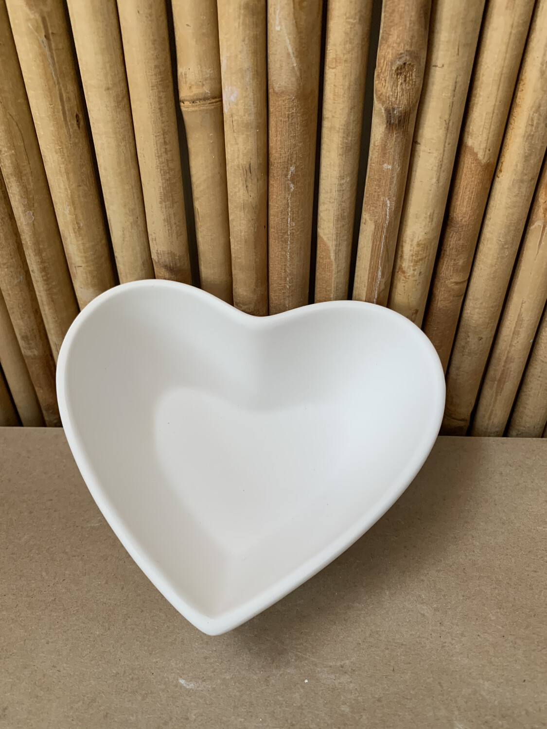 Paint Your Own Pottery - Ceramic   Heart Bowl Painting Kit