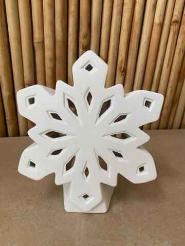 BRING BACK TO FIRE Ceramic Snowflake Luminary Lantern Painting Kit