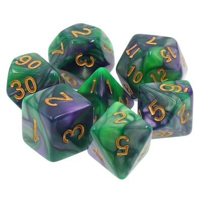 7 Die Set: Majestic Emerald