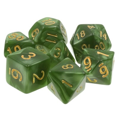7 Die Set: Gilded Evergreen
