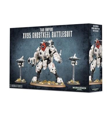 T'au Empire XV95 Ghostkeel Battlesuit