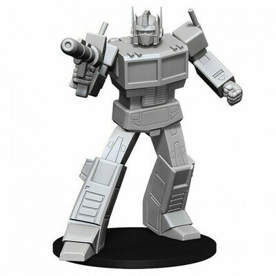 Transformers Unpainted Miniatures: Optimus Prime
