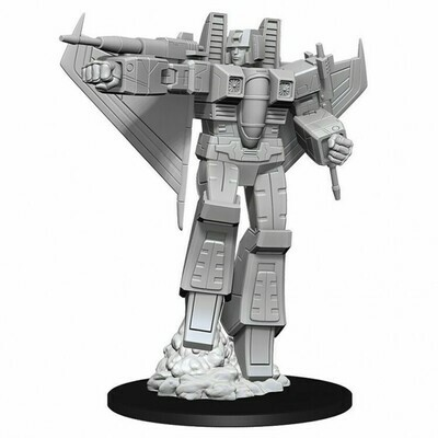 Transformers Unpainted Miniatures: Starscream